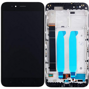 Xiaomi Mi A1 LCD Replacement Display + Frame Preassembled Black