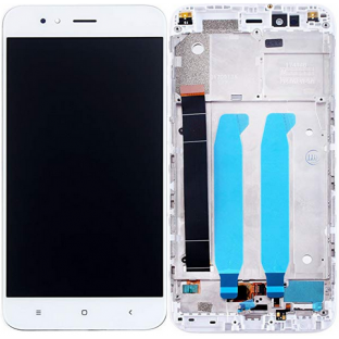Xiaomi Mi A1 LCD Replacement Display + Frame Preassembled White