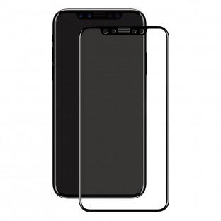 Eiger iPhone 11 Pro / Xs / X 3D Panzer Glas Display Schutzfolie mit Rahmen Schwarz (EGSP00524)