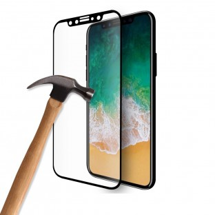 Eiger iPhone 11 Pro / Xs / X 3D Armored Glass Display Protector Film con cornice nera (EGSP00524)