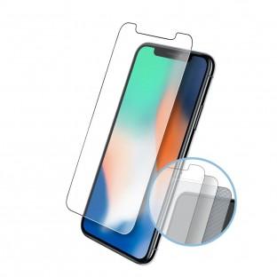 2er Set Eiger iPhone Xs Max Tri Flex Display Schutzfolie (EGSP00299)