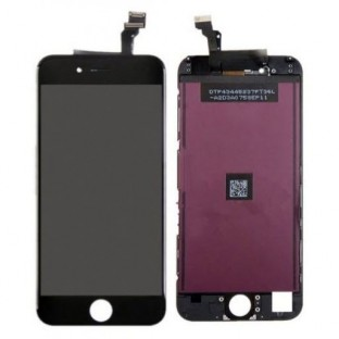 iPhone 6 LCD Digitizer Rahmen Ersatzdisplay Schwarz (A1549, A1586, A1589)