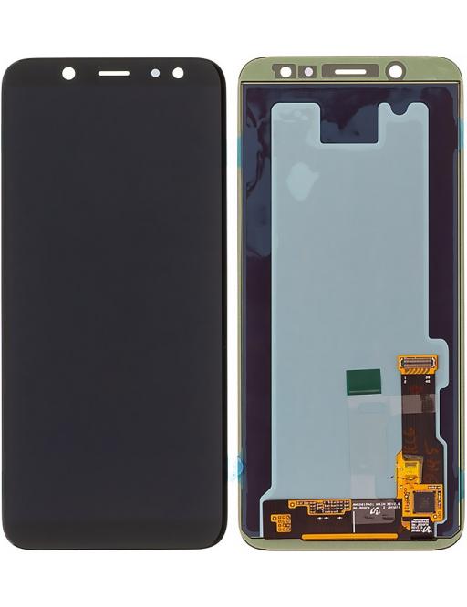 Samsung Galaxy A6 (2018) LCD Digitizer Front Ersatzdisplay Schwarz
