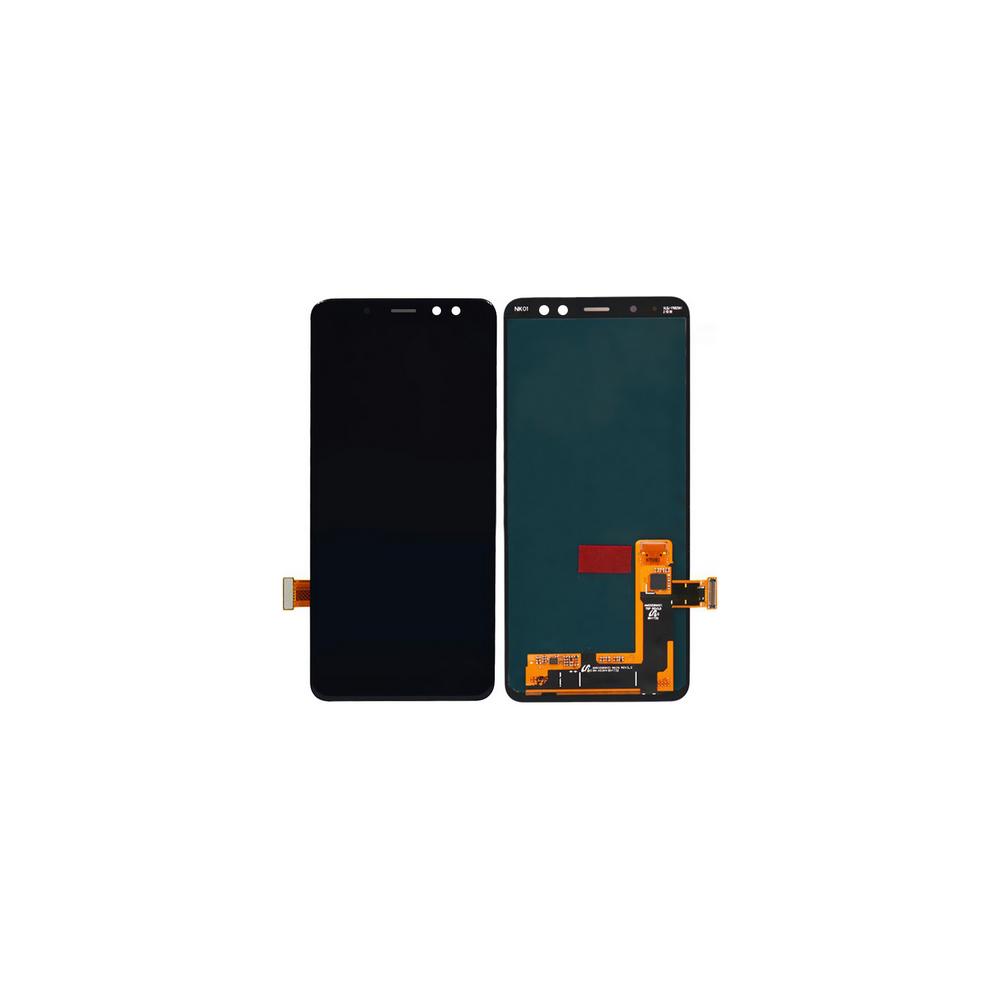 Samsung Galaxy A8 (2018) LCD Digitizer Front Ersatzdisplay Schwarz