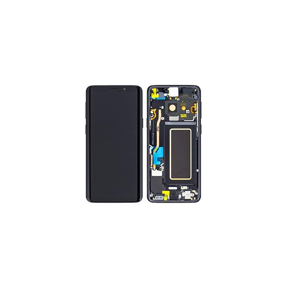 Samsung Galaxy S9 LCD Digitizer Ersatzdisplay + Rahmen Vormontiert Schwarz