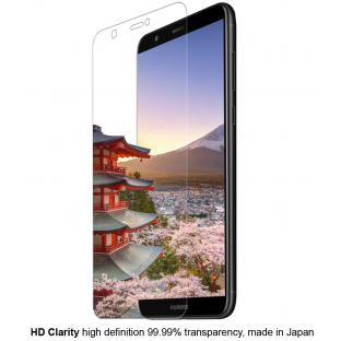 Eiger - Huawei P Smart (2018) Vollbild 3D Panzer Glas Display Schutzfolie (EGSP00204)