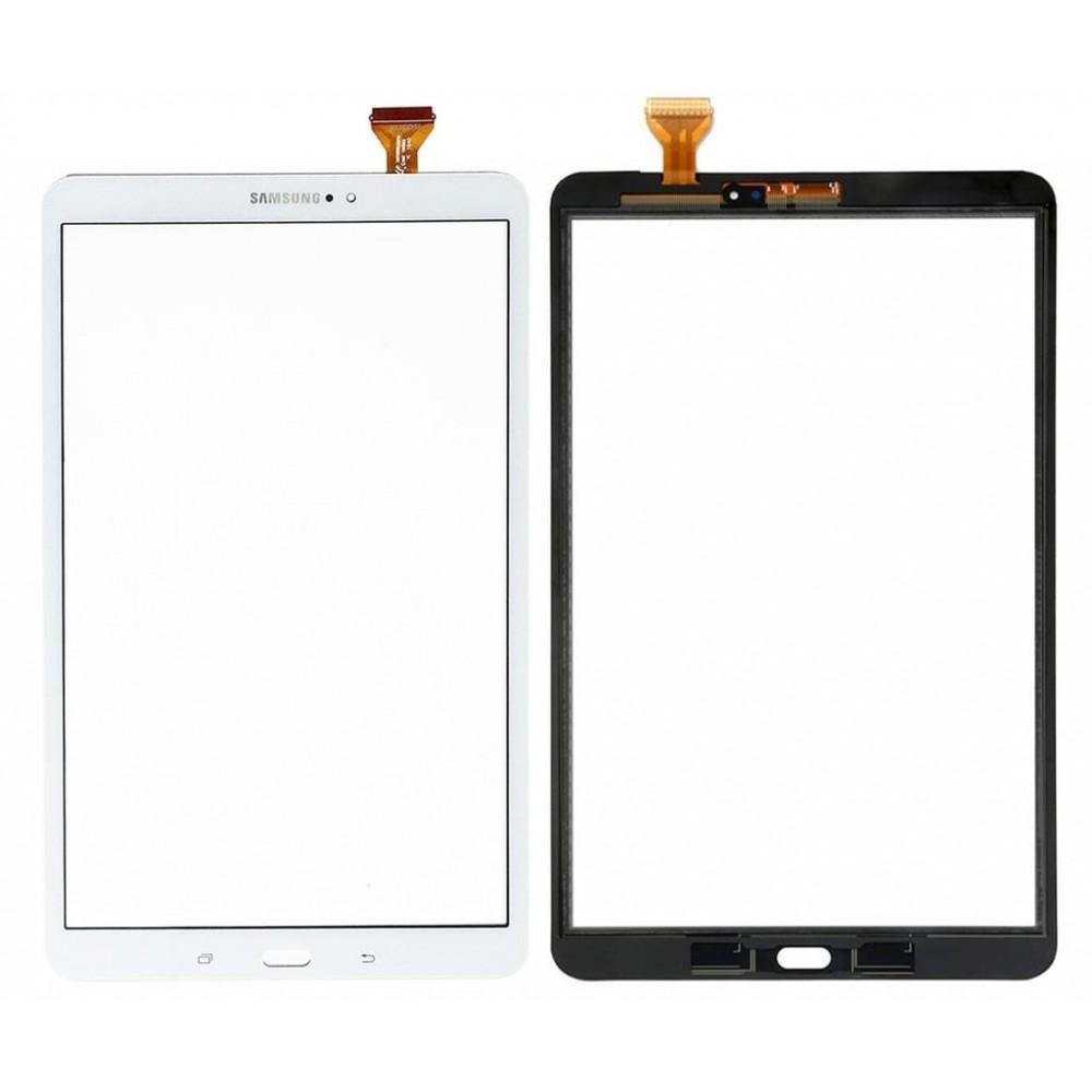 Samsung Galaxy Tab A 10.1 (2016) (T580 / T585) Touchscreen Glas Digitizer Weiss