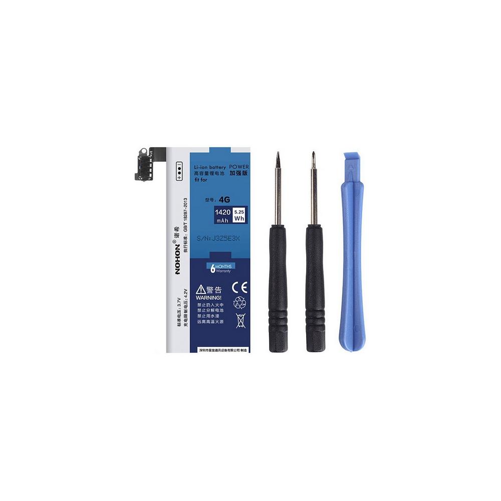 iPhone 4 Akku - Batterie 4.2V 1420mAh NOHON Premium Batterie