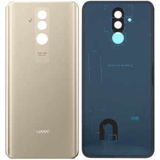 Huawei Mate 20 Lite back cover back shell with adhesive gold