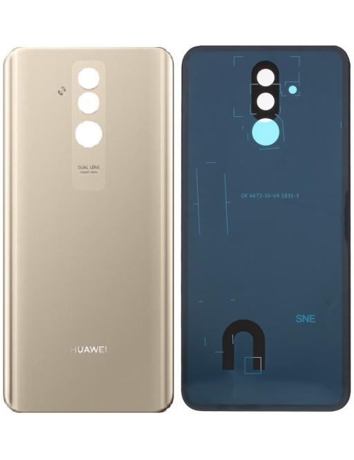 Huawei Mate 20 Lite Backcover Rückschale mit Kleber Gold