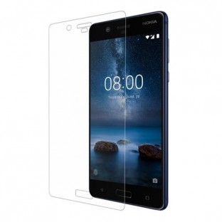 Eiger Nokia 8 Vollbild 3D Panzer Glas Display Schutzfolie (EGSP00147)