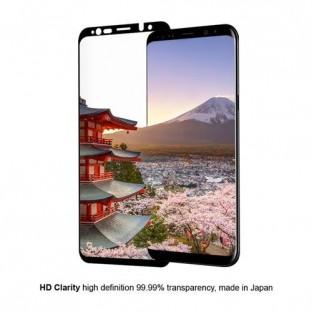 Eiger Samsung Galaxy S9 Plus 3D Panzer Glas Display Schutzfolie mit Rahmen Schwarz (EGSP00195)