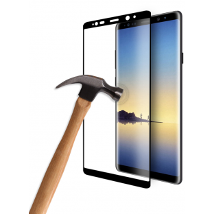 Eiger Samsung Note 8 3D Armor Glass Display Protector Film with Frame Black (EGSP00143)