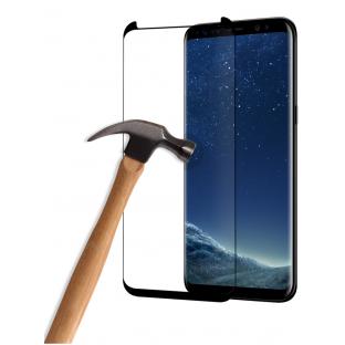 Eiger Samsung Galaxy S8 Plus 3D Panzer Glas Display Schutzfolie mit Rahmen Schwarz (EGSP00114)