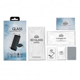 Eiger Samsung Galaxy S8 3D Panzer Glas Display Schutzfolie mit Rahmen Schwarz (EGSP00112)