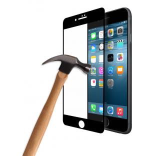 Eiger iPhone SE (2020) / 8 / 7 / 6S / 6 Film de protection d'écran en verre blindé 3D avec cadre noir (EGSP00124)