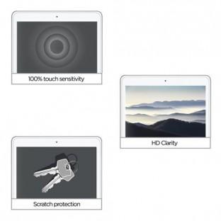 Eiger iPad 9.7 (2018/2017) / iPad Pro 9.7 / iPad Air / iPad Air 2 Panzer Glas Display Schutzfolie (EGSP00167) (A1566, A1567)