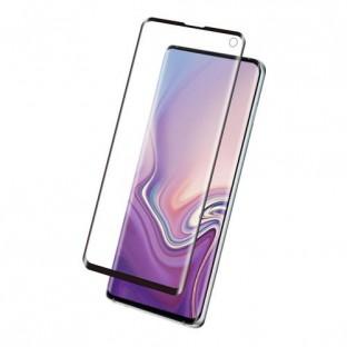 Eiger Samsung Galaxy S10e Vollbild 3D Panzer Glas Display Schutzfolie mit Rahmen Schwarz (EGSP00351)