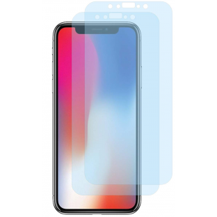 2er Set Crocfol iPhone Xs / X / 11 Pro Flüssig Glas Display Schutzfolie Transparent (DF5095-CF)