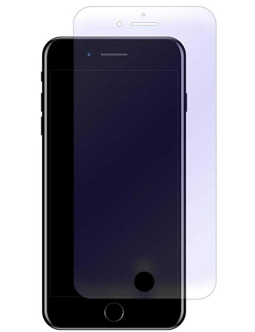 2er Set Crocfol iPhone 8 Plus / 7 Plus / 6S Plus / 6 Plus Flüssig Glas Display Schutzfolie Transparent (DF4596-CF)
