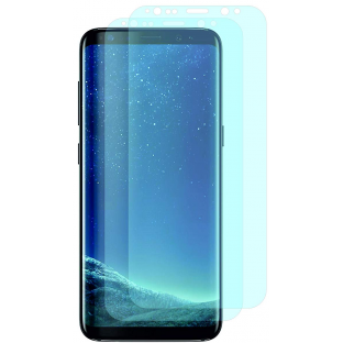 2er Set Crocfol Samsung Galaxy S9 Flüssig Glas Display Schutzfolie Transparent (DF4690-CF)