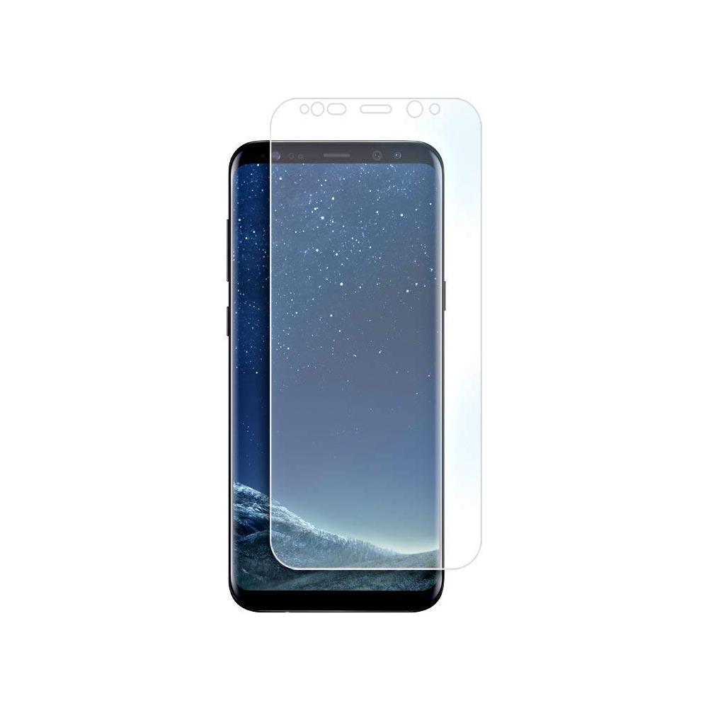 2er Set Crocfol Samsung Galaxy S8 Flüssig Glas Display Schutzfolie Transparent (DF4334-CF)