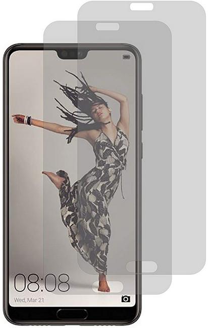 Image of 2er Set Crocfol Huawei P20 Pro Flüssig Glas Display Schutzfolie Transparent (DF-4734)