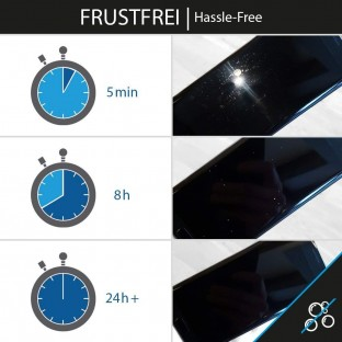 2er Set Crocfol Huawei P20 Pro Flüssig Glas Display Schutzfolie Transparent (DF-4734)