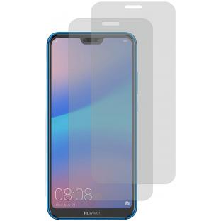 2er Set Crocfol Huawei P20 Lite Flüssig Glas Display Schutzfolie Transparent (DF-4731)