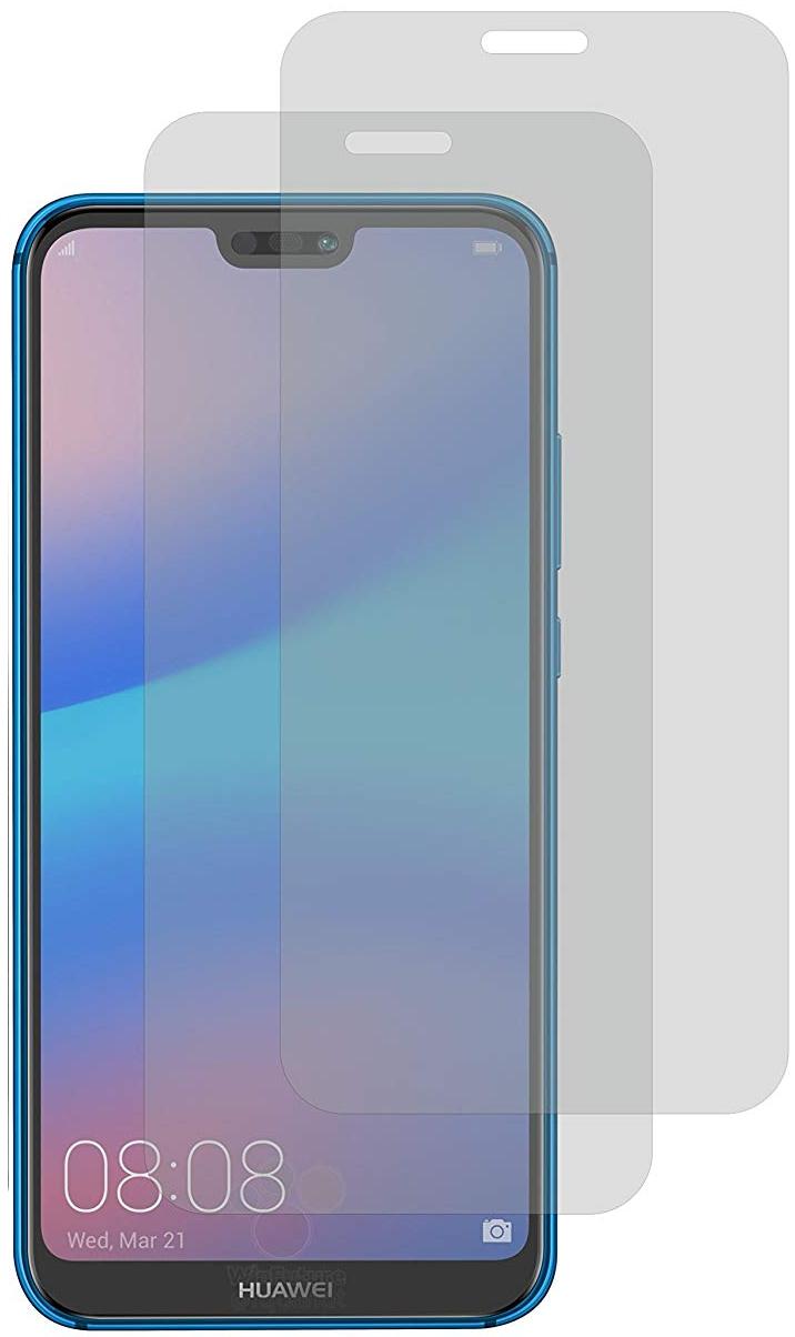 Image of 2er Set Crocfol Huawei P20 Lite Flüssig Glas Display Schutzfolie Transparent (DF4731-CF)
