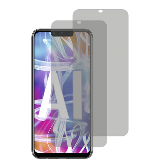 2er Set Crocfol Huawei Mate 20 Lite Flüssig Glas Display Schutzfolie Transparent (DF4820-CF)
