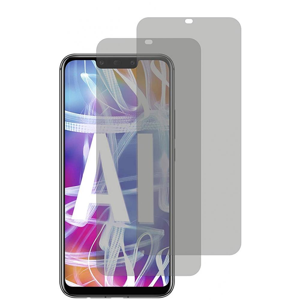 2er Set Crocfol Huawei Mate 20 Lite Flüssig Glas Display Schutzfolie Transparent (DF4820-CF)
