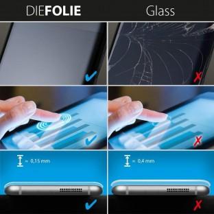 2er Set Crocfol Samsung Galaxy S10e Flüssig Glas Display Schutzfolie Transparent (DF4953-CF)