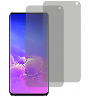 2er Set Crocfol Samsung Galaxy S10 Flüssig Glas Display Schutzfolie Transparent (DF4947-CF)