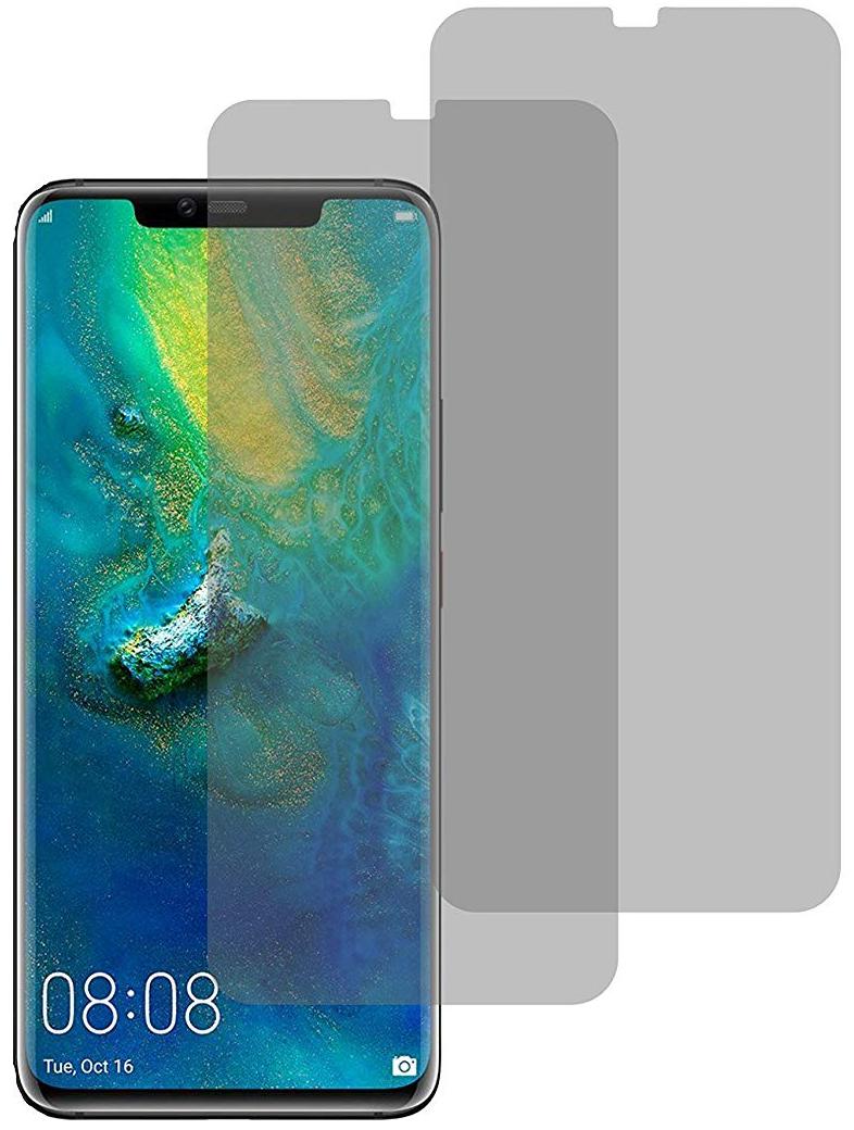 Image of 2er Set Crocfol Huawei Mate 20 Flüssig Glas Display Schutzfolie Transparent (DF4962-CF)