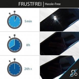 2er Set Crocfol Note 9 Flüssig Glas Display Schutzfolie Transparent (DF4809-CF)