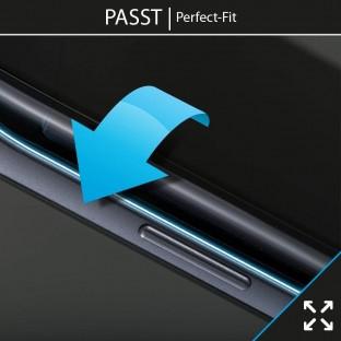 2er Set Crocfol Note 8 Flüssig Glas Display Schutzfolie Transparent (DF4545-CF)