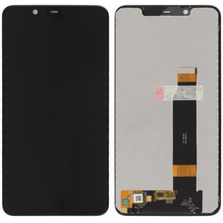 Nokia 5.1 Plus LCD Digitizer Replacement Display Black