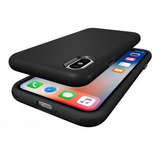Eiger iPhone Xs / X North Case Premium Hybrid Schutzhülle Schwarz (EGCA00121)