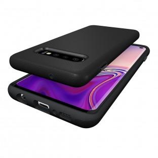 Eiger Galaxy S10 Plus North Case Premium Hybrid Schutzhülle Schwarz (EGCA00139)