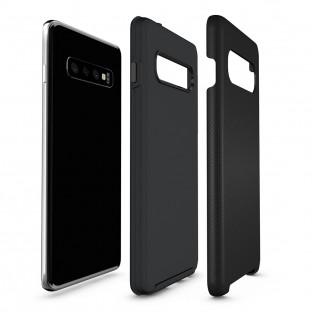 Eiger Galaxy S10 North Case Premium Hybrid Schutzhülle Schwarz (EGCA00138)
