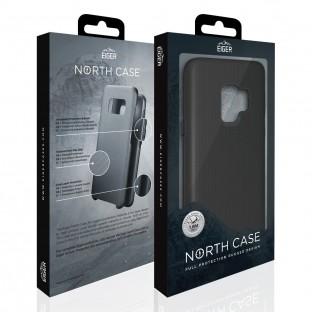 Eiger Galaxy Note 9 North Case Premium Hybrid Schutzhülle Schwarz (EGCA00120)