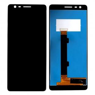 Nokia 3.1 LCD Ersatzdisplay Schwarz OEM