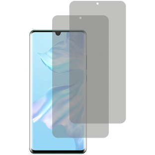2er Set Crocfol Huwei P30 Pro Flüssig Glas Display Schutzfolie Transparent (DF5016-CF)