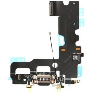 prise de charge de l'iPhone 7 / Connecteur Lightning noir (A1660, A1778, A1779, A1780)