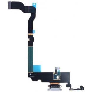 iPhone Xs Dock Connector Lightning Ladeanschluss Flexkabel Weiss