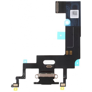 iPhone Xr Dock Connector Lightning Charging Port Flex Cable Black (A1984, A2105, A2106, A2107)