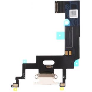 iPhone Xr Dock Connector Lightning Ladeanschluss Flexkabel Weiss (A1984, A2105, A2106, A2107)