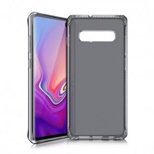 ITSkins Samsung Galaxy S10 Plus Spectrum Schutz Hardcase Hülle (Fallschutz 2 Meter) Schwarz (SGSR-SPECM-BLCK)