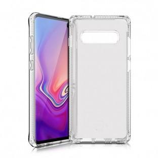 ITSkins Samsung Galaxy S10 Plus Spectrum Schutz Hardcase Hülle (Fallschutz 2 Meter) Transparent (SGSR-SPECM-TRSP)